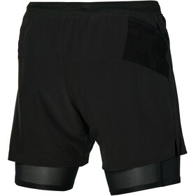 Mizuno ER 5.5 2in1 shorts Herrer, sort